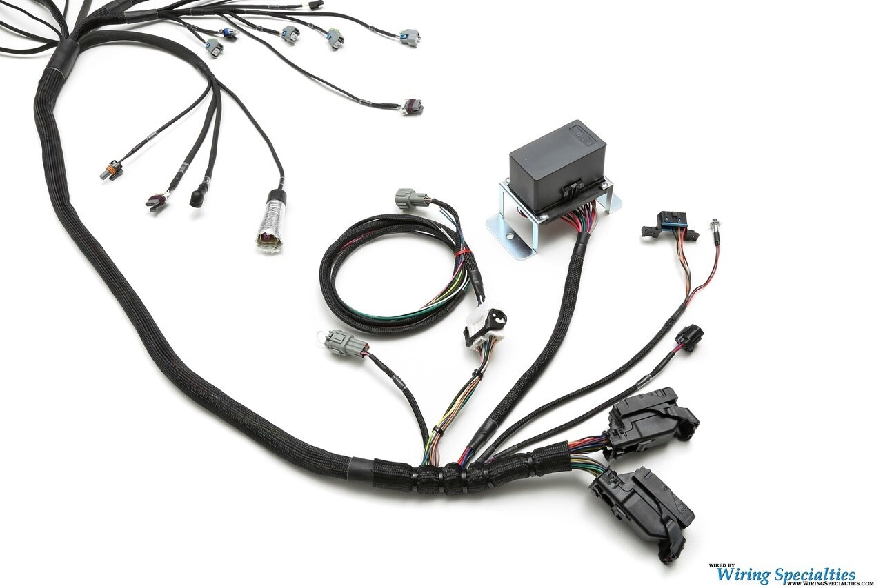 Ls3 Gen Iv 58x Dbw Swap Wiring Harness For Mazda Rx7 Fd