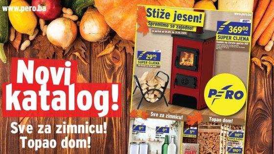PERO: Stigao je novi katalog! Spremni za jesen?