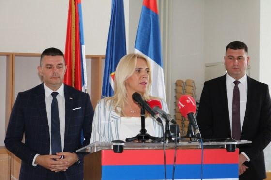 Mrkonjić Grad: Predsjednica Republike Srpske Željka Cvijanović boravila u radnoj posjeti našoj opštini
