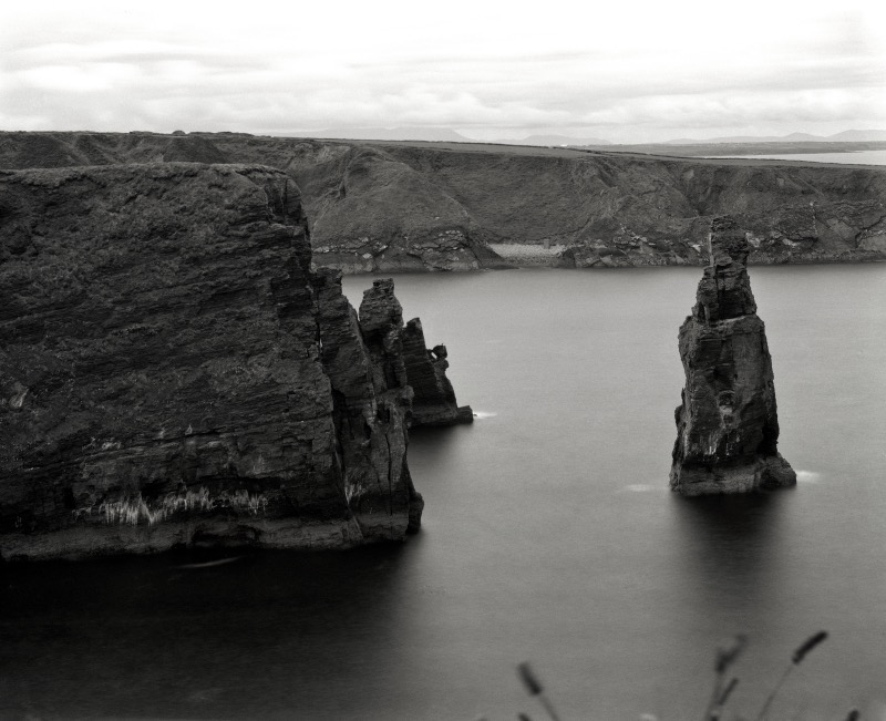 Bromore Cliffs on 5x4 film by Lidija Ivanek SiLa