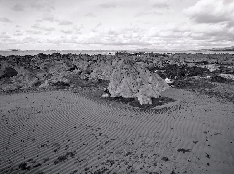 Beach near Camp on 5x4 film by Lidija Ivanek SiLa