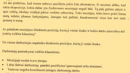 Pareiškimo fragmentas