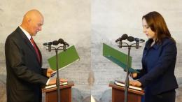 Katras kandidatas po sekmadienio ruošis priesaikai Seime ant Lietuvos Konstitucijos?