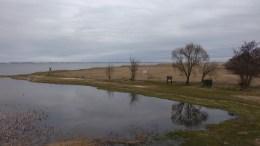 Kintuose paplūdimys, vykdant projektą Baltijos vandens sporto centras, gali padidėti.