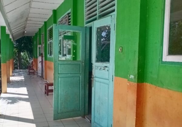 Masa Pandemi, Lokal SMAN Selangit Tak Terawat dan Rusak