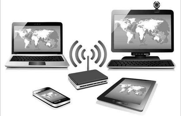 contoh jaringan tanpa kabel wireless network