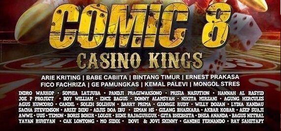 comic 8 casino kings poster