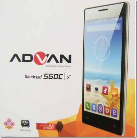 Advan Vandroid S50C