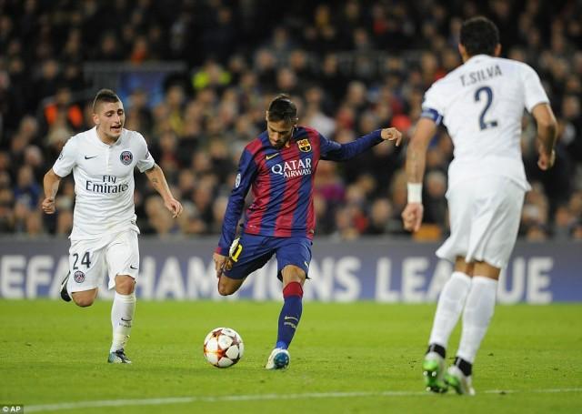 Barcelona vs PSG Zinedine Zidane Ramal Barca Kalah 0-3!