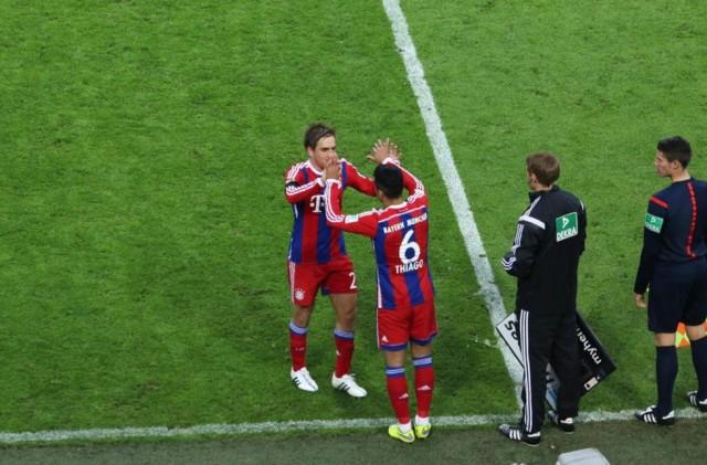 Bayern Munchen Thiago Alcantara Kembali Tampil Setelah Setahun Absen