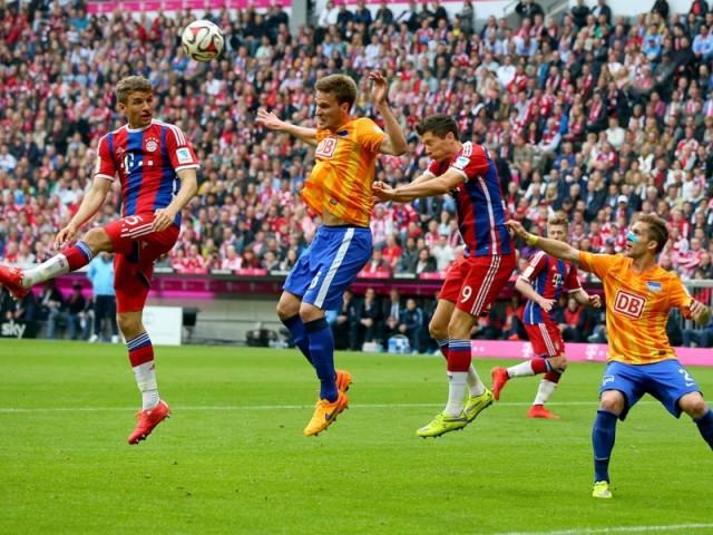Bayern Munchen vs Hertha Berlin 1