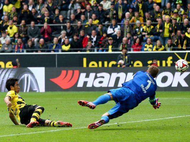 Borussia Dortmund vs Eintracht Frankfurt 2