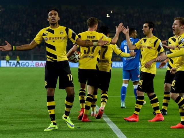 Borussia Dortmund vs Hoffenheim 4