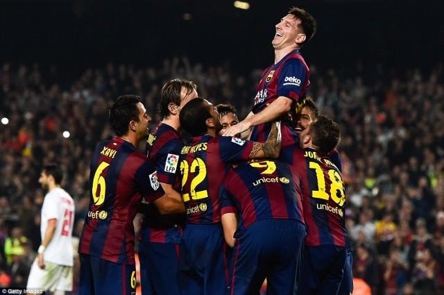 Jadwal Liga Spanyol Terbaru Prediksi Sevilla vs Barcelona 12 April 2015