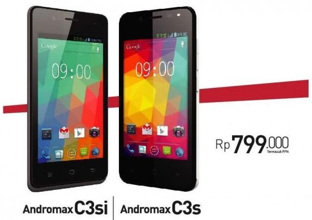 Smartfren Andromax C3s dan C3si