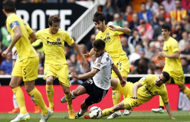 Valencia vs Villarreal 1