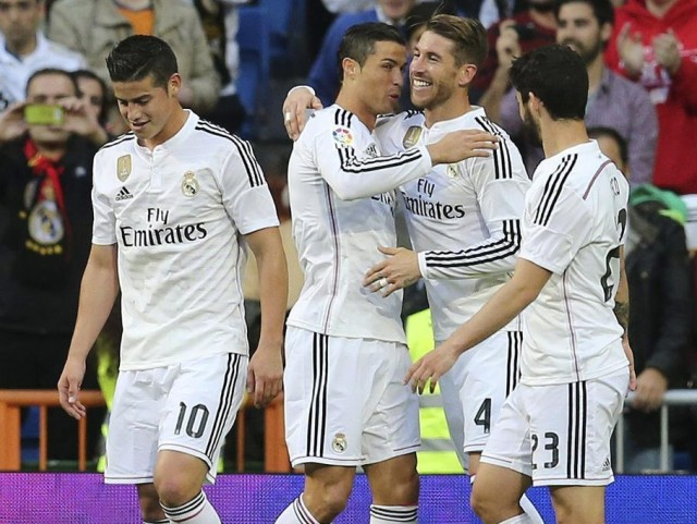 Video Real Madrid vs Malaga 3-1 Cuplikan Gol Liga Spanyol 2015