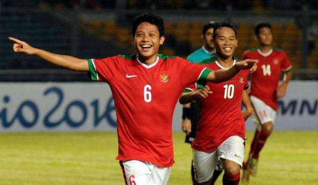 evan dimas timnas indonesia u22 u23 gol
