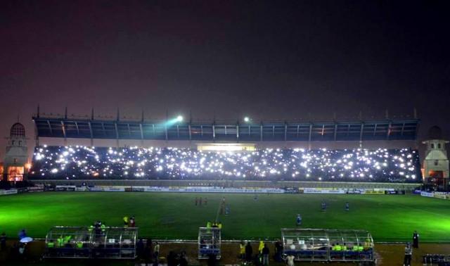 stadion Si Jalak Harupat Mati Lampu