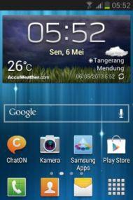 Menu Samsung Galaxy Fame GT-S6810