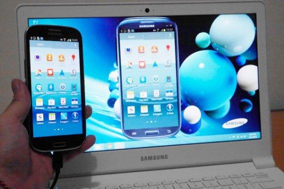 Samsung ATIV Book 9 Lite dan HP