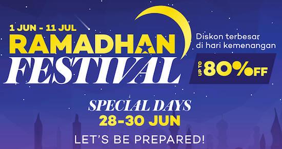 Promo Ramadhan Sale Lazada Indonesia
