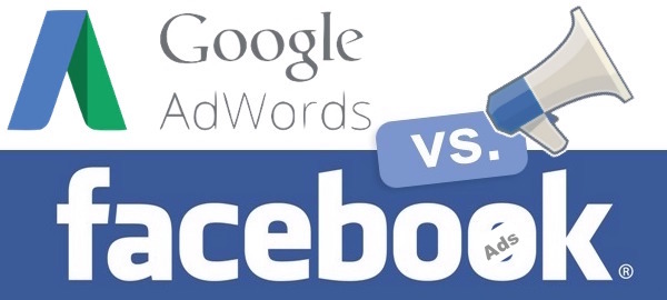 Google Adwords vs Facebook Ads