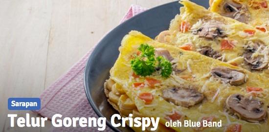 resep telur goreng crispy untuk sajian sarapan istimewa