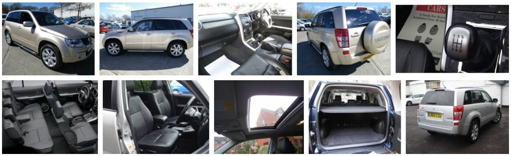 Sunroof Suzuki New Grand Vitara 2.4