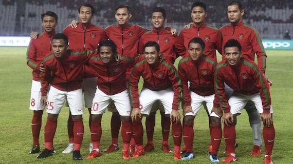 Timnas Indonesia dalam Laga Persahabatan Melawan Singapura