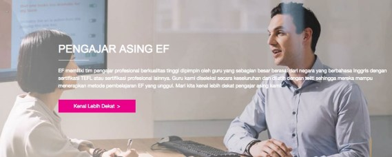 Keunggulan Kursus Bahasa Inggris Berpengalaman EF Indonesia