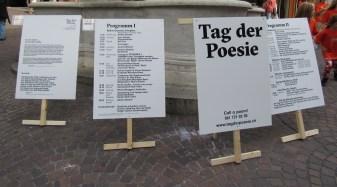 Tag der Poesie Programm