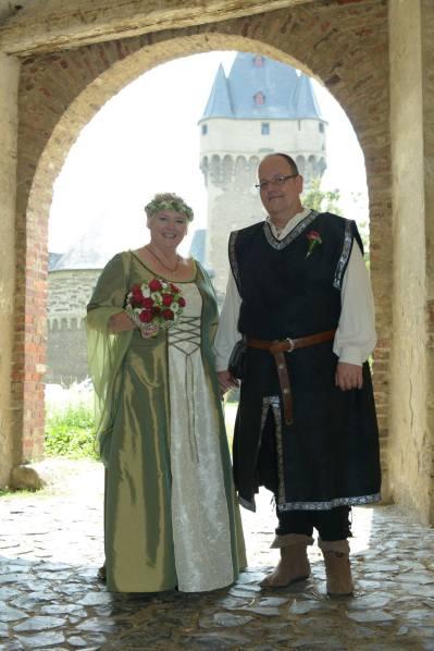 Wunderschönes Brautpaar