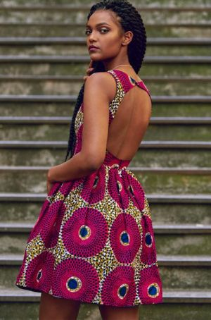 47 modèles de robes en pagne chics et tendances pour vos occasions !