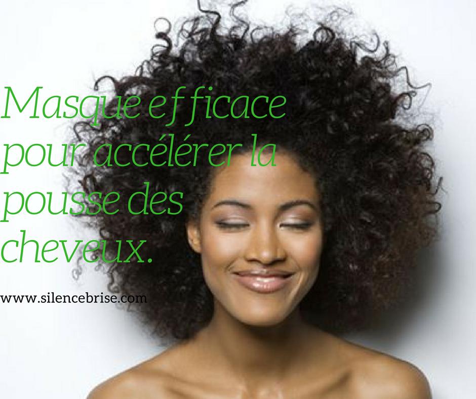 Masque efficace pour accélérer la pousse des cheveux