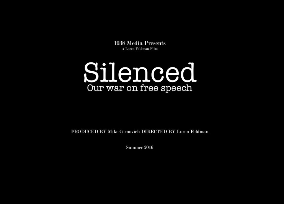 silenced our war on free speech