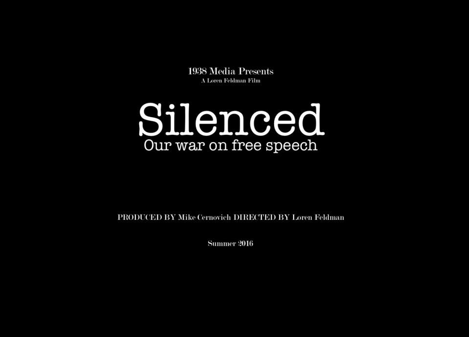 silenced our war on free speech