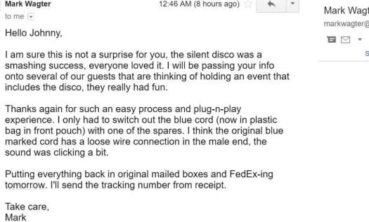 Amazing headphone rental review