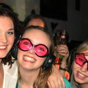 Silent disco party bij SV mixed dispuut Blend - the young fashion people