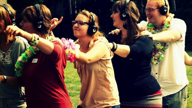silent disco therapie