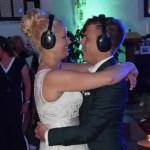 Silent Disco bruiloft