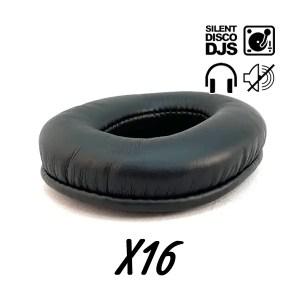 SDDJS SP1 Silent Disco Oorkussens voor HP1 hoofdtelefoon (set van 16)