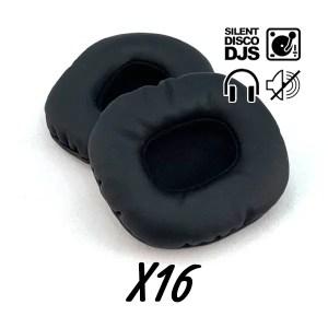 SDDJS SP2 Silent Disco Oorkussens Voor HP2 Hoofdtelefoon (Set Van 16)