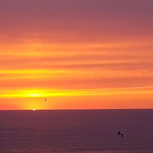 Sunset Silent Disco Yoga Newquay Cornwall