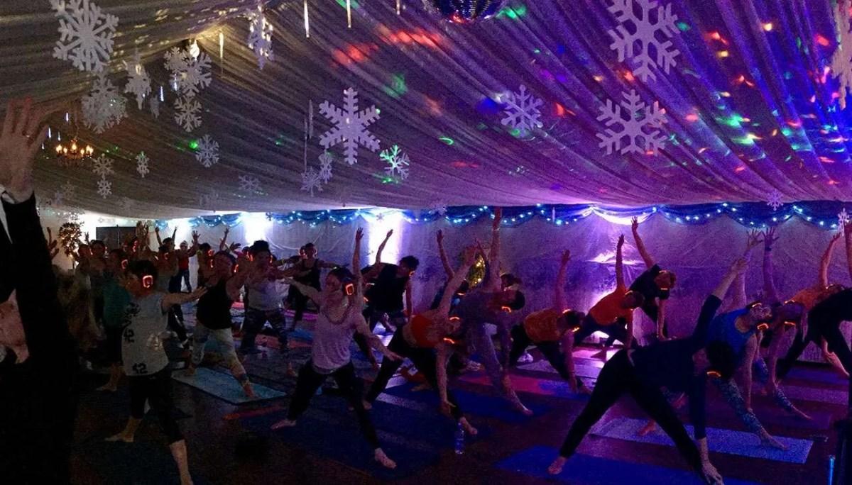 Silent Disco Yoga Christmas Special 2019