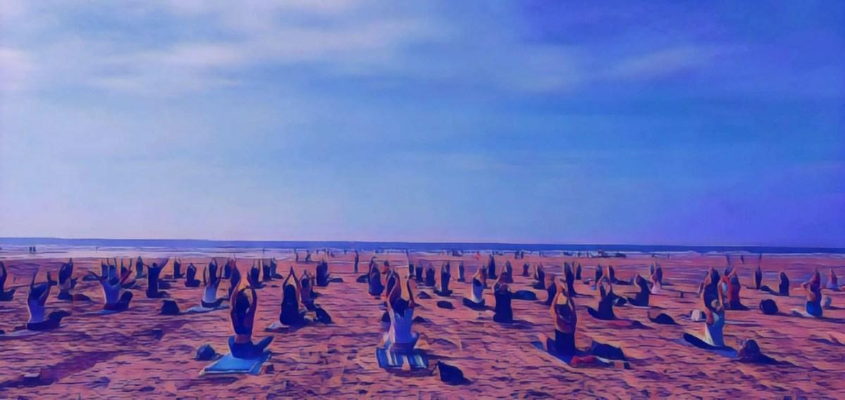 Silent Disco Yoga Watergate Bay Newquay