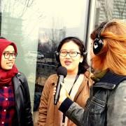 ERASMUS UNIVERSITEIT ROTTERDAM - Opening HATTA gebouw Ermasmus Universiteit Rotterdam met live radio