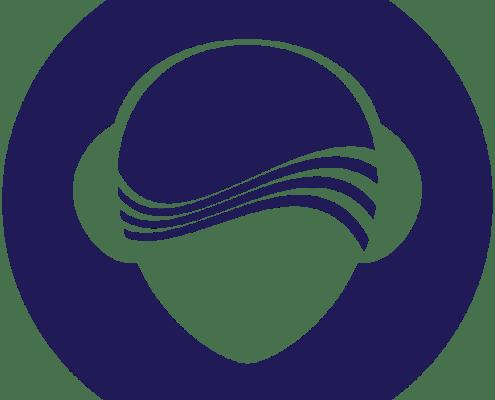 SilentDJ - logo head transparant