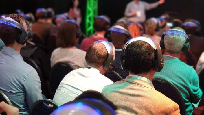lezingen en beurs presentaties focussed presentation big data expo