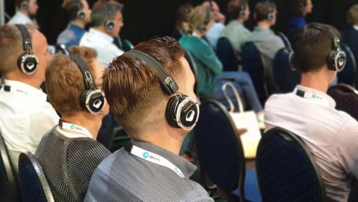 big data expo koptelefoon sessie